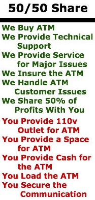 50/50 Share Program from The ATM Ladies